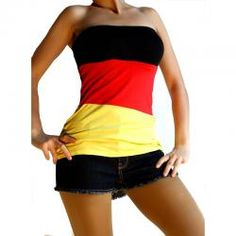 Germany fan dress