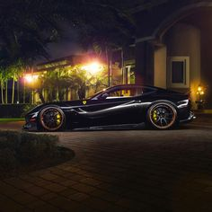 Black Ferrari F12Berlinetta