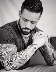 Sleeve tattoos, tattoos for guys, tatoos, hipster tattoo, tatted Hot Tattoos, Body Art Tattoos, Sleeve Tattoos, Tattoos For Guys, Tatoos, Wicked Tattoos, Hot Men, Sexy Men, Trash Polka