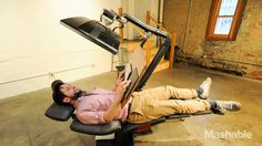 This $5,900 workstation lets you work lying down
