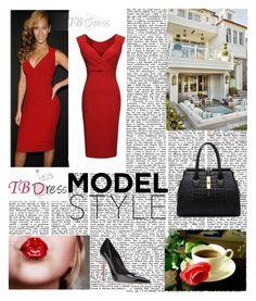 """""""TBDRESS 1/12"""" by antonija2807 ❤ liked on Polyvore featuring moda, dress, women y tbdress"""