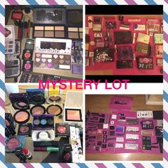 Customizable mystery lot all highend nib authentic Okay guys I do this all the time on eBay and it's a big hit so why not try it here! This is a random lot (*amount of pieces varies on price*) that is all high end, authentic and new. Guaranteed to include at least 1 full size palette. I WILL TAILOR IT TO YOUR COLOR OR BRAND PREFERENCES but do not take requests for specific products. Brands include Kat Von d, MAC, urban decay,tarte, too faced, Kylie,ysl,Dior,Chanel & Bobbi brown. EVERY…