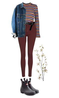 """leila"" by julietteisinthe80s on Polyvore featuring Jovonna, Topshop, ASOS, Hunter and Pier 1 Imports"