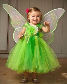 Tinkerbell Tinker Bell Tutu Dress Costume Dress por BlissyCouture