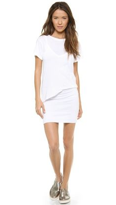 Jersey T shirt dress for summer.