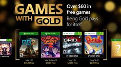 Xbox Free Games With Gold for May 2016 - http://wp.me/pEjC4-1fT5