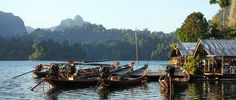 Khao Sok National Park floating guesthouse