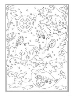 Creative Haven Coloring Pages Search Pictures Photos