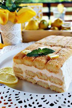 Illéskrisz Konyhája: ~ CITROMMISU ~ Donut Muffins, My Recipes, Cookie Recipes, Favorite Recipes, Caesar Pasta Salads, Tolle Desserts, Tiramisu, Hungarian Recipes, Great Desserts
