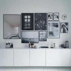Variations Creative Frame Wall Decoration for Your Home. Amazing and Creative Frame Wall Decoration for Your Home. Bored with a plain wall look? Do not rush to replace the paint or coat it with wallpaper. Room Inspiration, Interior Inspiration, Mirror Inspiration, Interior And Exterior, Interior Design, Living Spaces, Living Room, Home And Deco, Scandinavian Interior