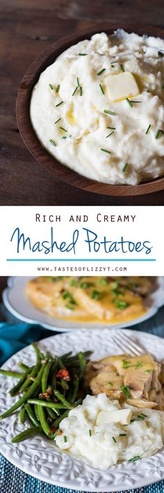 Three key ingredients make up these rich and creamy mashed potatoes. You'll never make mashed potatoes another way again. They're also a great slow cooker mashed potato recipe. via @tastesoflizzyt