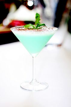 Grasshopper Cocktail - Classic!!!!