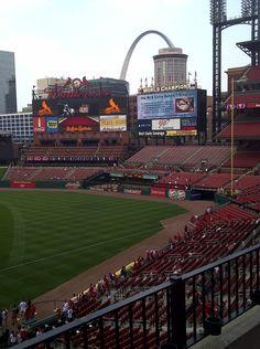 Busch Stadium In St. Louis, Missouri