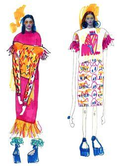콜라주로 패션 일러스트를 그려내는 일러스트레이터_ Elyse Blackshaw : 네이버 블로그
