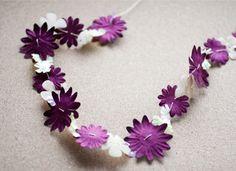 Flower Power: 21 Floral-Inspired Garlands via Brit + Co.