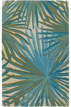 Key West Area Rug - Wool Rugs - Hand-tufted Rugs - Tropical Rugs - Coastal Rugs - Contemporary Rugs | HomeDecorators.com