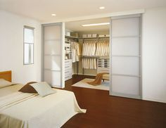 Walk In Closet Idea... One day I'll have a closet like this!