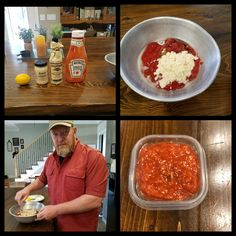 Everyone is always asking how I fix cocktail sauce for shrimp. Simple and easy - 4 ingredients- Ketchup, prepared horseradish, Worcestershire sauce & fresh lemon juice. Mix it up and enjoy 😊 Prepared Horseradish, Cocktail Sauce, Worcestershire Sauce, Fresh Lemon Juice, 4 Ingredients, Ketchup, Palak Paneer, Stir Fry, Shrimp