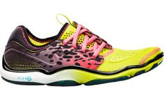 Purr-fectly Wild: 7 Animal-Print Gear Picks: The designers at Under Armour broke the mold when they designed these colorful Toxic running shoes ($100).  Beyond this fun print, the offset lace reduces pressure from the top of your foot, while the foam offers the right balance of support and flexibility for this minimalist design.