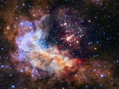 NASA Unveils Celestial Fireworks as Official Image for Hubble 25th Anniversary | by NASA Goddard Photo and Video