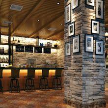 3D Pedra ardósia bloco de papéis de parede papéis de parede de tijolo DO vinil DO PVC para o quarto da melhoria home Sala de estar fundo Casa de Café Bar(China (Mainland))