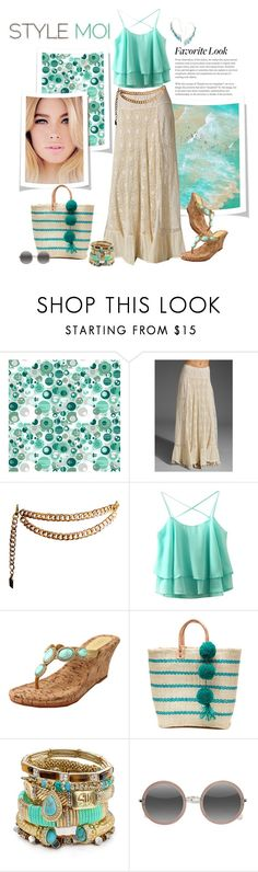 """""""Style Moi"""" by sheryl-lee ❤ liked on Polyvore featuring Love Sam, Chanel, Mystique, Mar y Sol, Samantha Wills, EyeBuyDirect.com and Jorge Morales"""