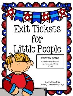 Exit+tickets+(exit+slips)+provide+a+quick+and+easy+way+to+assess+students'+understanding+of+a+lesson.+This+packet+provides+an+assessment+for+all+26+letters.+A+weekly+checklist,+to+record+the+results+of+exit+slips,+is+also+provided.++I+have+included+a+sample+checklist+for+you.