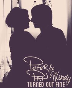 They played Peter Pan and Wendy at Disney World and then got married in real life. This is adorable. :)