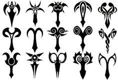 Aries star sign tattoos