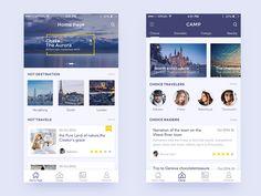 Travel Notes by kihoo #Design Popular #Dribbble #shots