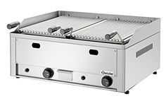 Bartscher - Table-top gas lava rock grill 70