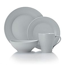 image of Mikasa® Ryder Dinnerware Collection in Grey