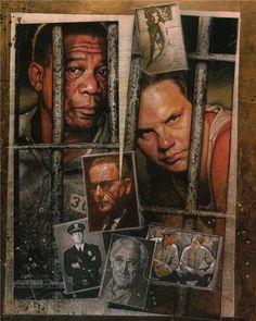 """""""The Shawshank Redemption"""" by Drew Struzan."""