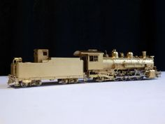 TOP-Sehr-Selten-Neuwertig-HOn3-FUJIYAMA-Kogyo-Dampflok-Class-K-36-D-amp-R-G-W-2-8-2