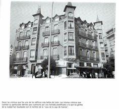 Leon, fotos antiguas, plaza de Guzman.