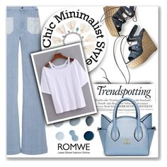 """Romwe White T-shirt contest"" by dixiebelle81 ❤ liked on Polyvore featuring Stuart Weitzman, The Seafarer, Melissa and Chan Luu"