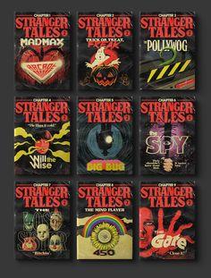 Der brasilianische Designer Butcher Billy hat für jede der Stranger Things 2 Episoden geniale Pulp Taschenbuch Covers gestaltet. Die sehen nicht nur gut aus, sondern greifen auch den Inhalt der jeweiligen Folge geschickt auf. Die einzelnen Cover in grosser Auflösung plus Stranger Things 2 Episoden als Atari Video Game Cartdriges und mehr Werke von Butcher …