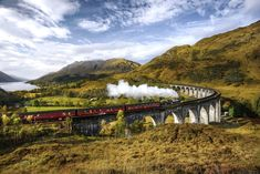 Take a slow and stunning journey by train across some of the world's most beautiful landscapes.