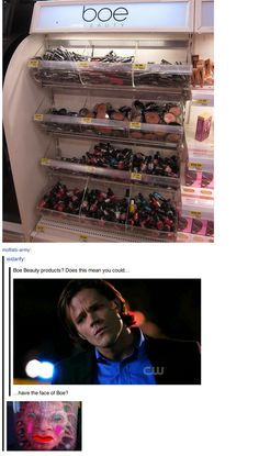 I liked this because it was hilarious. But I pinned this because of Sam's face.