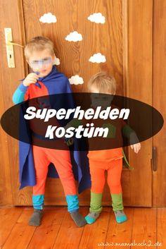 kostüm superheld kinder nähen