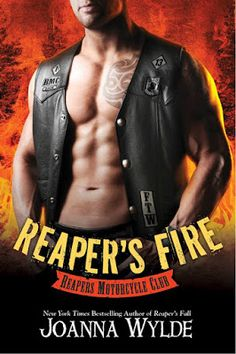 Cover Reveal: Reaper's Fire by Joanna Wylde