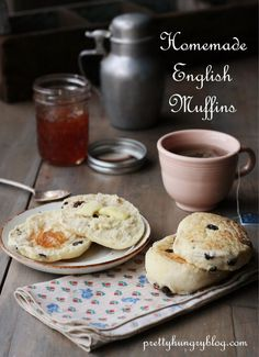 Homemade Cinnamon Raisin English Muffins (Made in your stand mixer ...