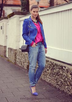Outfit: Blue Flash - fashiioncarpet