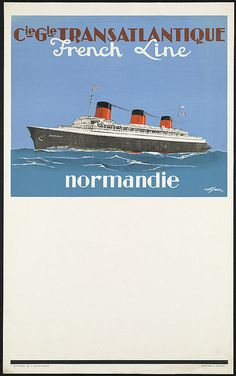 Normandie by Boston Public Library, via Flickr