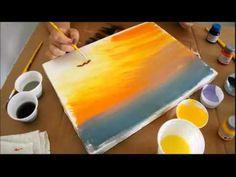 Pintura de Tulipas em tela - Cenário Feminino em 20/02/2016 - YouTube
