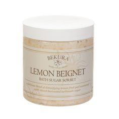Bekura Beauty Lemon Beignet Bath Sugar Sorbet