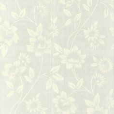 Superfresco Paintables White Amelie Wallpaper- at Debenhams.com