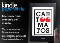 ¡Gana un Kindle paperwhite con Cartoomatos!  #SorteosActivos #Sorteamus Sorteo por @cartoomatos