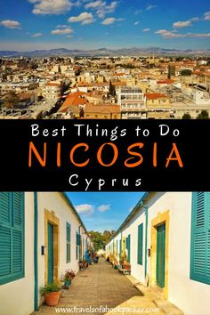 Planning a trip to Cyprus? Don't miss the divided capital Nicosia. Here you can read about things to do and see in north and south Nicosia. #nicosia #cyprus #northnicosia #southnicosia #visitnicosia #thingstodoinnicosia #thingstoseeinnicosia #thingstodoincyprus