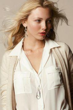 Odette earrings and necklace www.stelladot.com/jenniferdodson